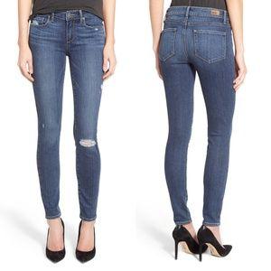Paige Verdugo Ultra Skinny Jeans Silas Distress 32